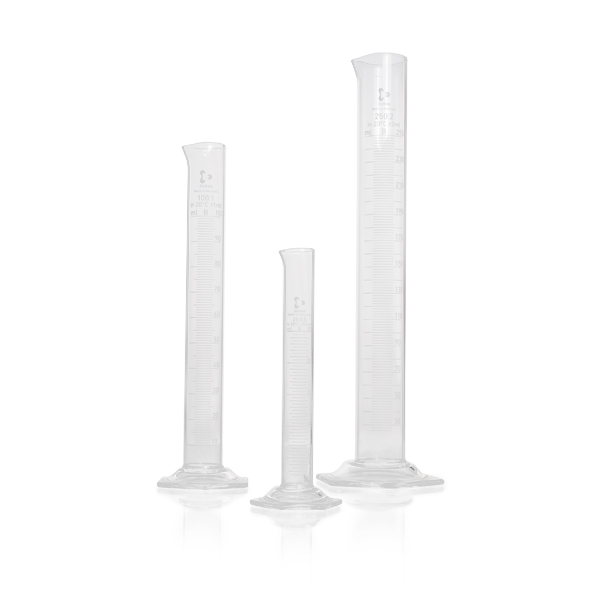 Proveta base hexagonal de vidro 1000 ml - Schott - Cód. 2139654