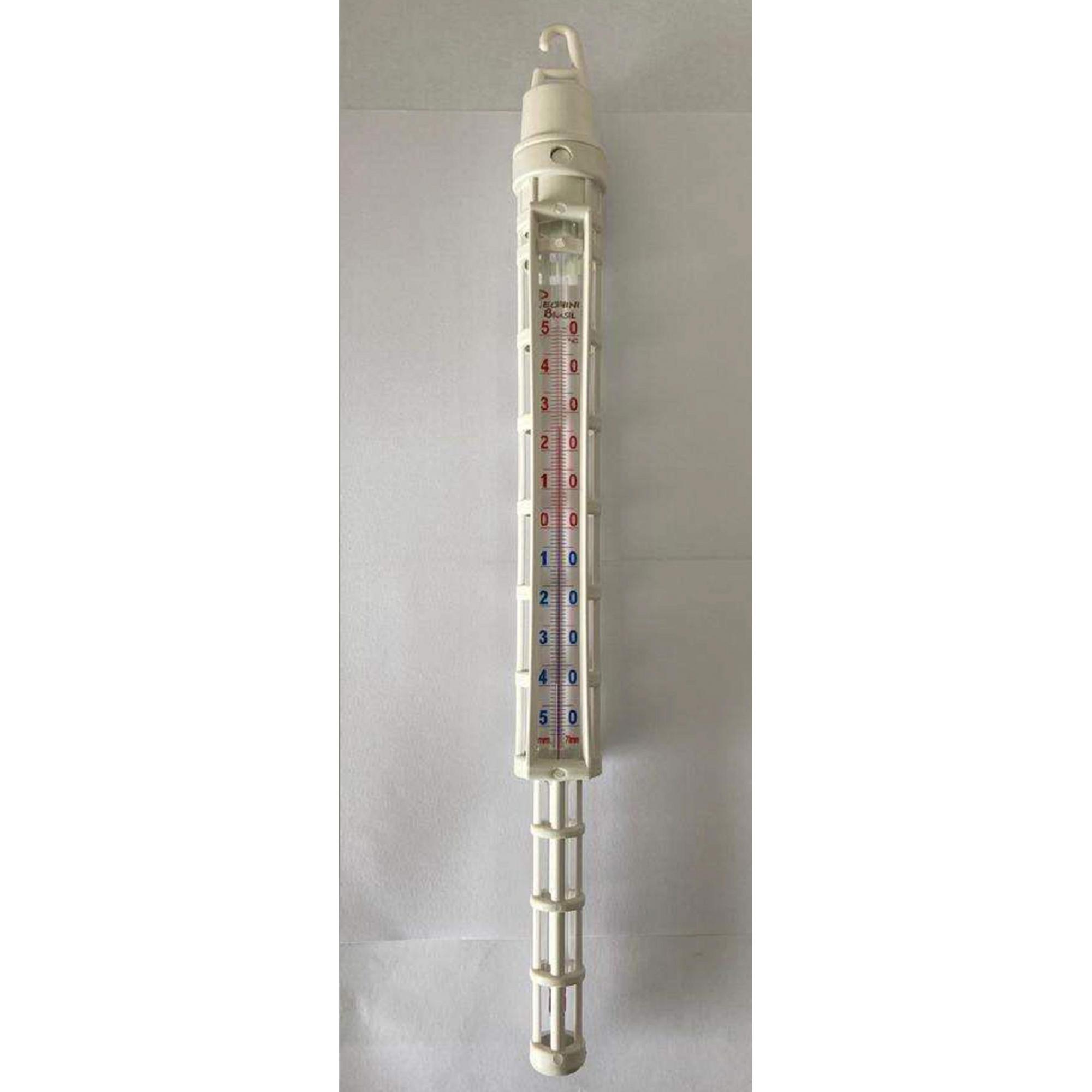 TERMÔMETRO ANALÓGICO PARA (REFRIGERAÇÃO/LATICÍNIOS) - COM HASTE  0 a 140°C - Laborglas - Cód. 9713103