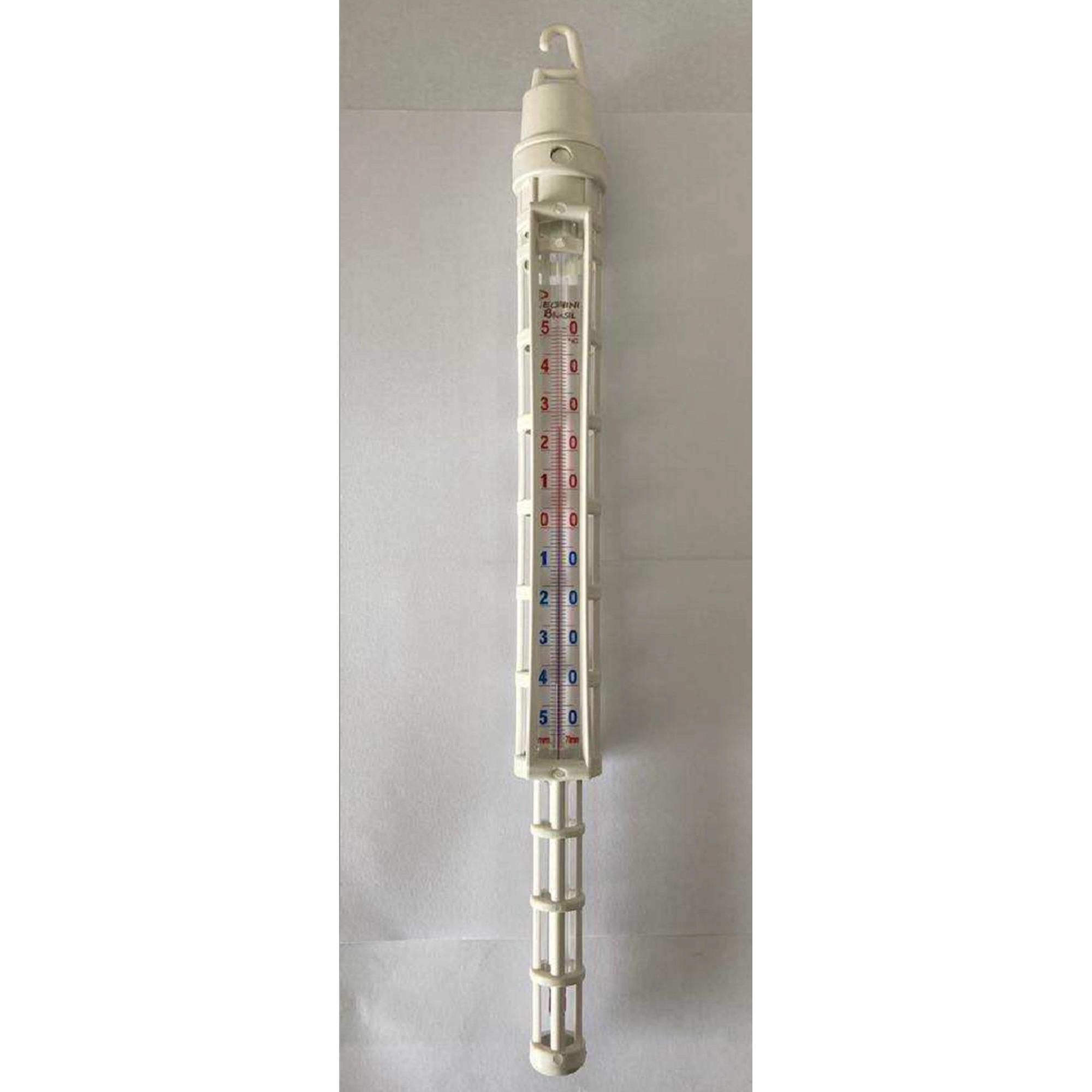 TERMÔMETRO ANALÓGICO PARA (REFRIGERAÇÃO/LATICÍNIOS) - COM HASTE  -40 a 50°C - Laborglas - Cód. 9713101