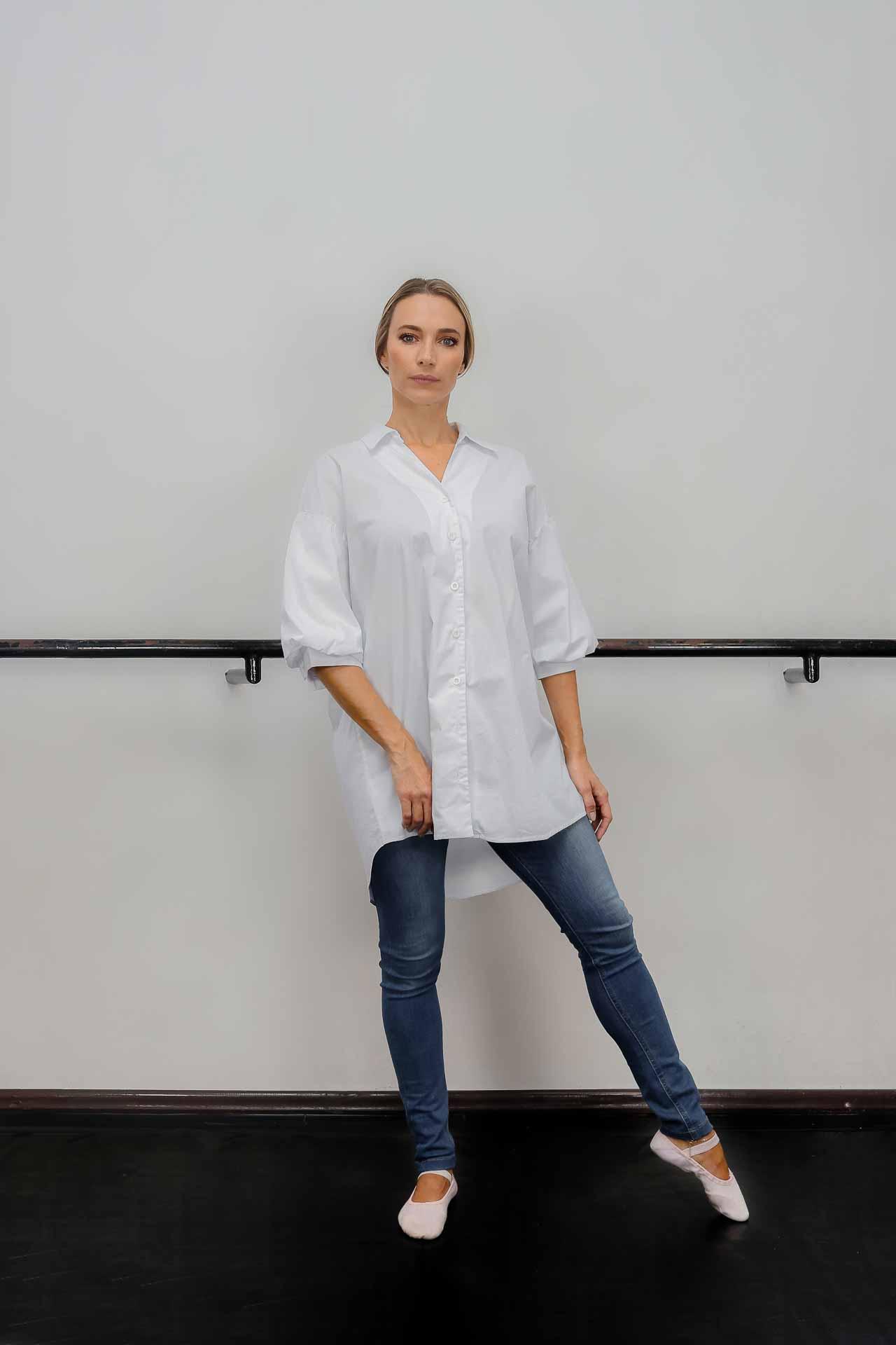 Camisa de algodão