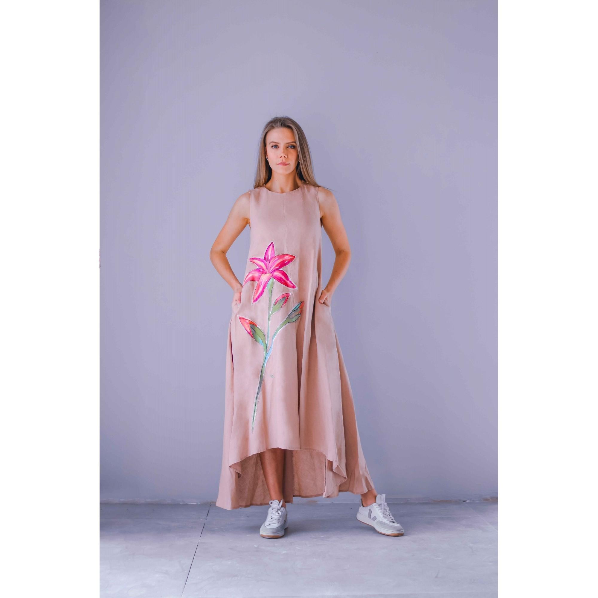 Vestido Caeté Rose