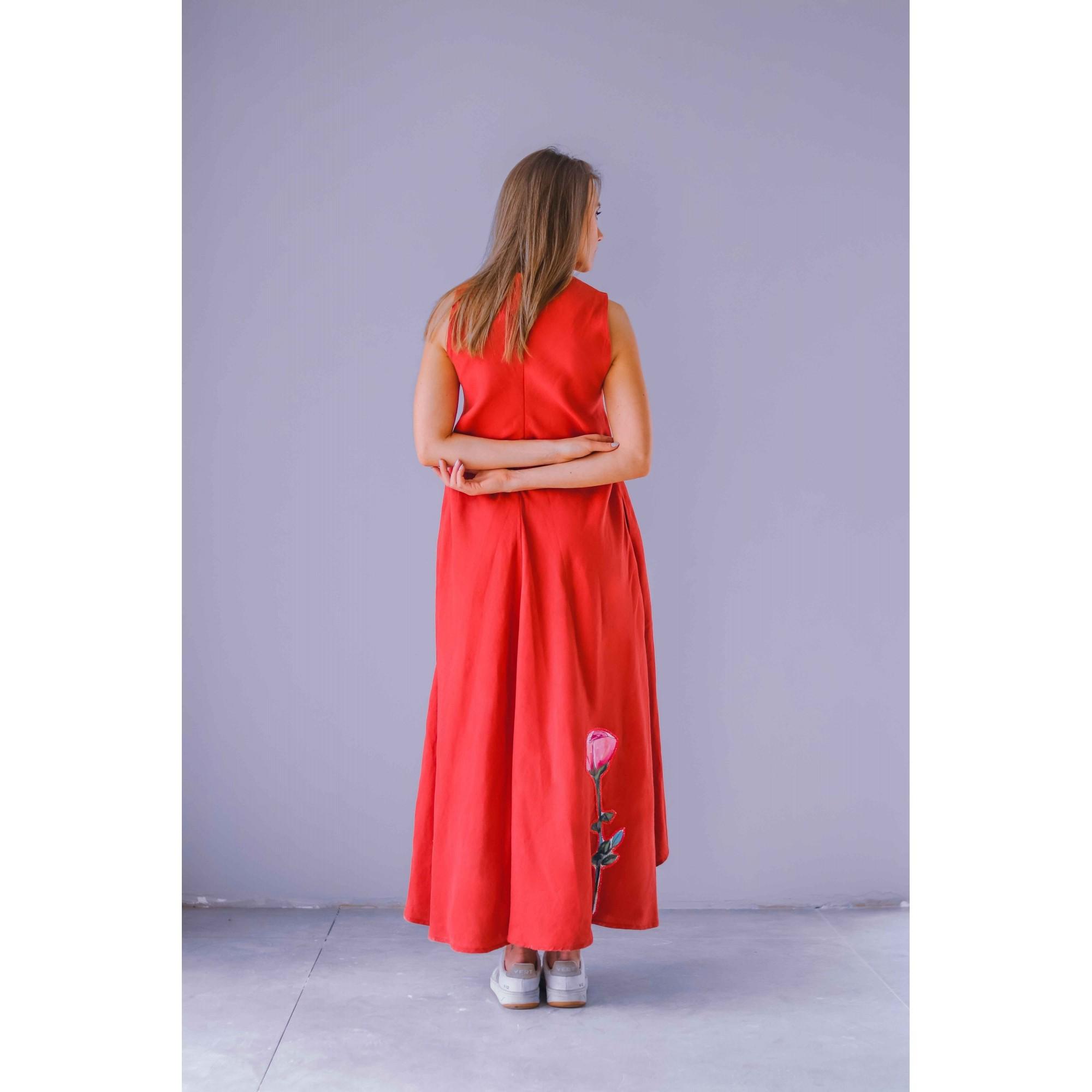 Vestido Caeté Terracota ESGOTADO