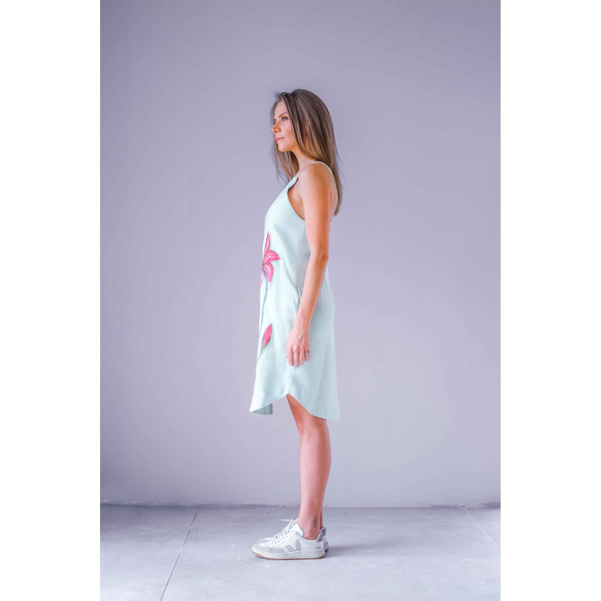 Vestido Camomila Menta