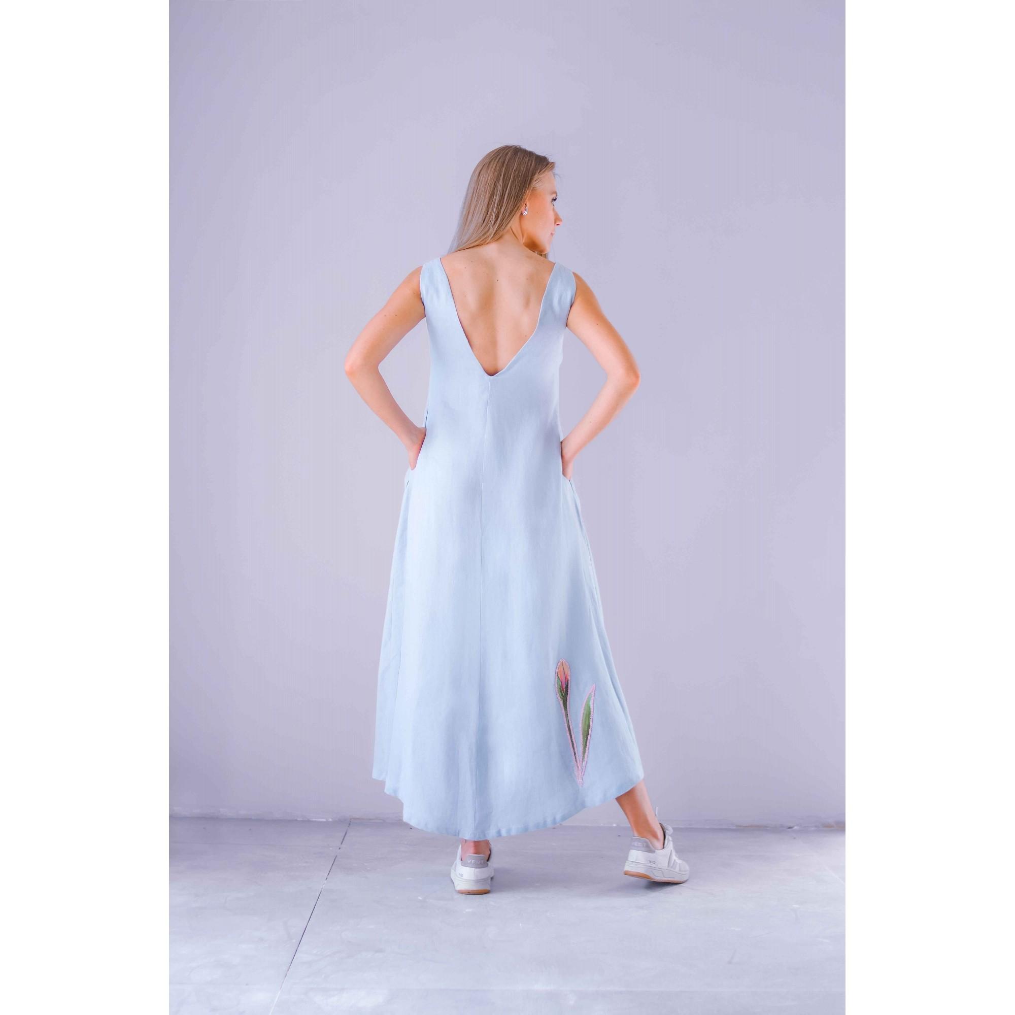 Vestido Iris Lavanda