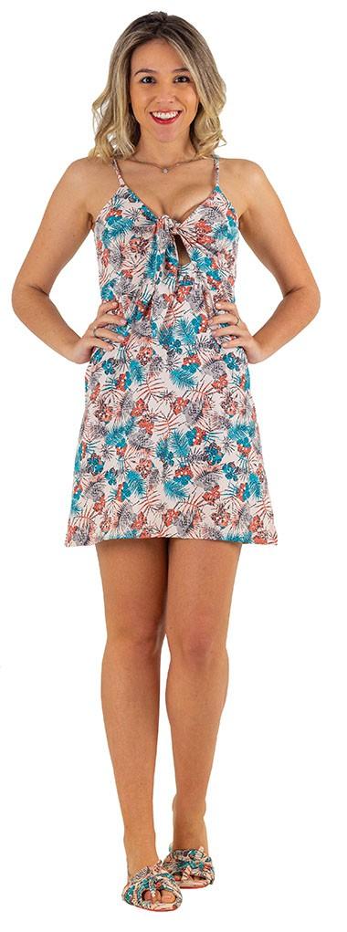 vestido homewear floral