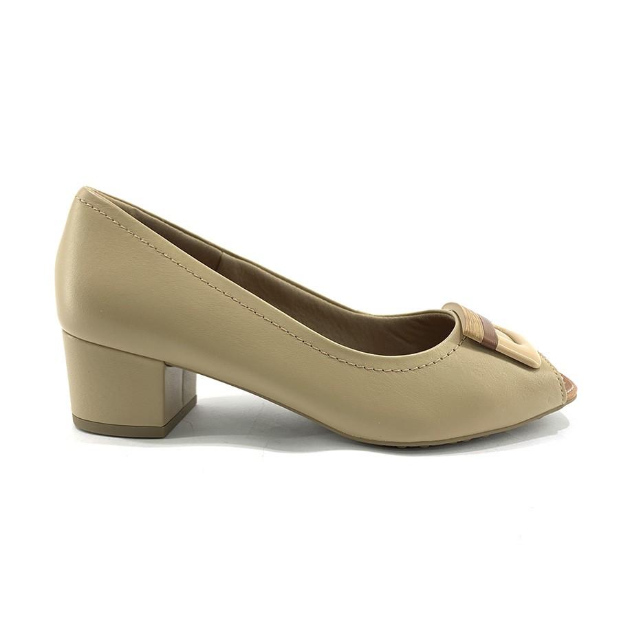 Sapato Peep Toe Usaflex AE 1704