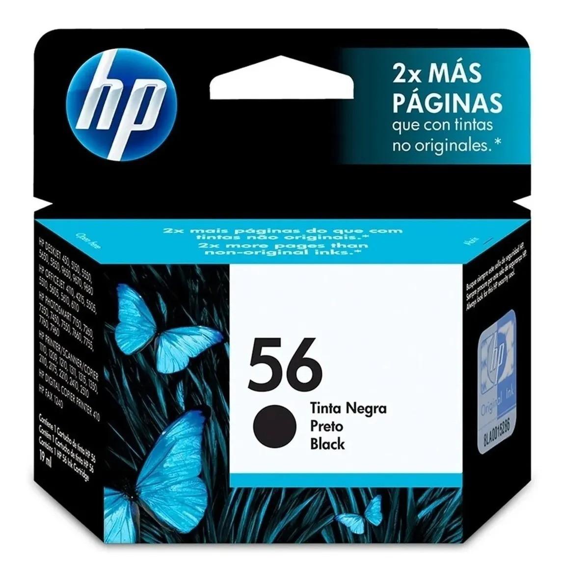 CARTUCHO DE TINTA HP 56 PRETO