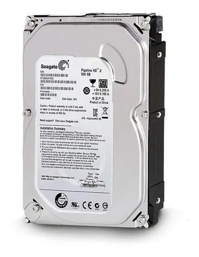 HD SEAGATE PIPELINE 500 GB  SATA 2 5900RPM