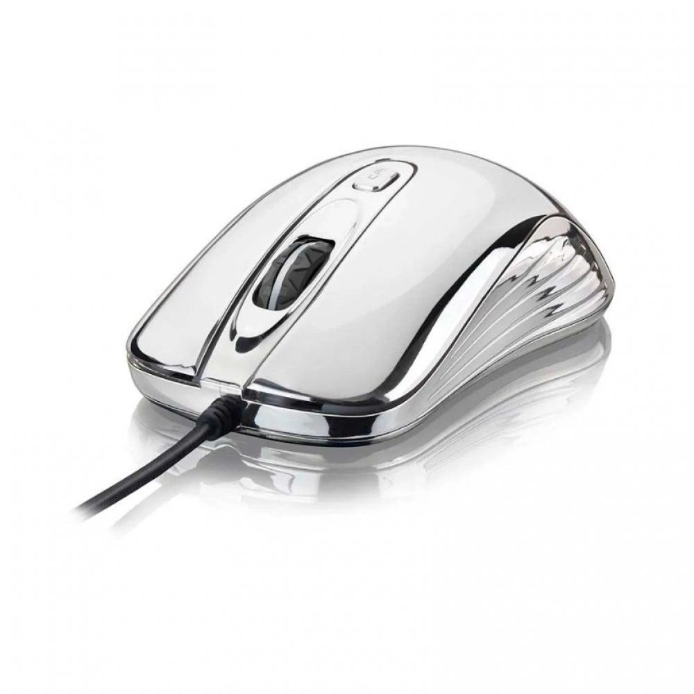 MOUSE GAMER WARRIOR CHROME MO228