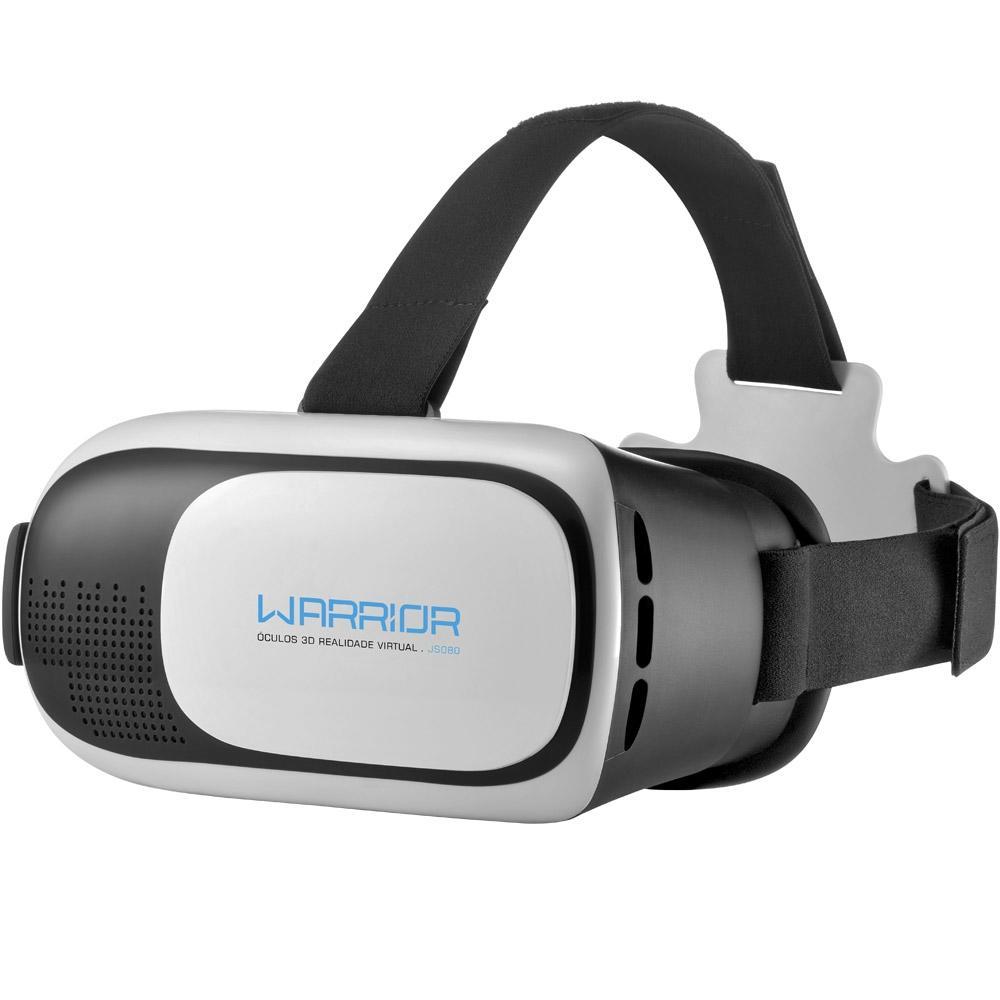 ÓCULOS 3D REALIDADE VIRTUAL WARRIOR JS080