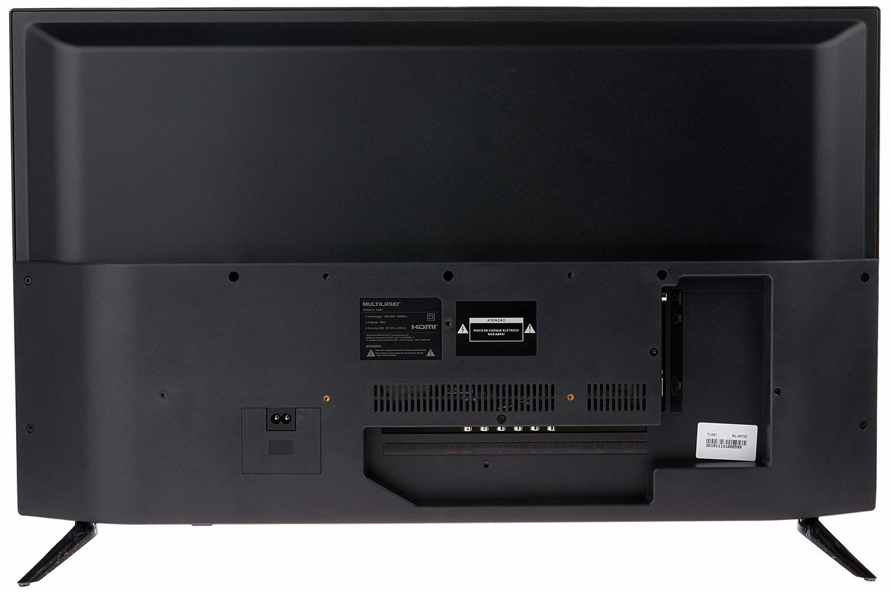 TV 32 POL. HD MULTILASER ENTRADAS HDMI USB VGA + CONVERSOR DIGITAL - TL001