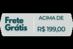 Frete Grátis Acima de R$ 199,00