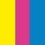 Amarelo Margarida + Pink Eletric + Eletric Blue