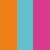 Tangerine + Positano + Pink Eletric