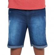 Bermuda Jeans Masculina Stone Plus Size