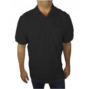 Camisa Polo com Bolso Piquet Plus Size