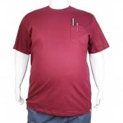 Camiseta Básica Com Bolso XXPlusSize
