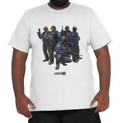 Camiseta Agentes FBI - CSGO Plus Size