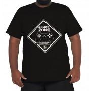 Camiseta Gamer Zone XPlusSize 100% Algodão