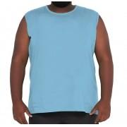 Camiseta Machão Básica 100% Algodão Plus Size