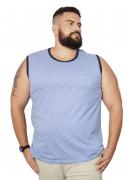 Camiseta Machão Listrada XPlusSize