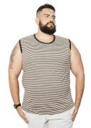 Camiseta Machão Listrada XXPlusSize