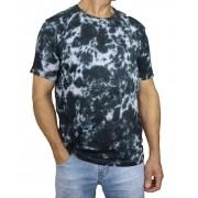 Camiseta Masculina Tie Dye Nuvem