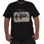 Camiseta Plus Size Papai 100% Algodão