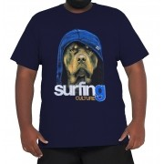 Camiseta Silk Plus Size 100% Algodão Fio 30.1 Penteada