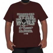 Camiseta Star Wars XPlusSize 100% Algodão