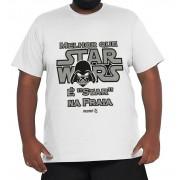 Camiseta Star Wars XXPlusSize 100% Algodão