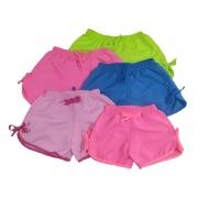Kit 10 Shorts Menina Microfibra Praia Piscina Multicores