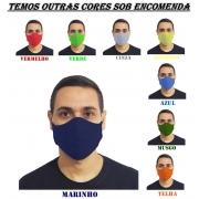 Kit 160 Máscaras 100% Algodão Lavável Atacado para Revenda