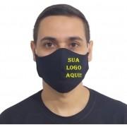 Kit 250 Máscaras p/ Estampar 100% Algodão Revenda Atacado
