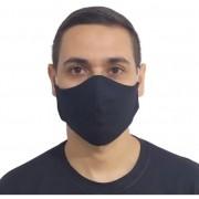 Kit 330 Máscaras Pretas Reutilizável Lavável 100% Algodão