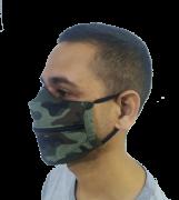Máscara Divertida com Zíper
