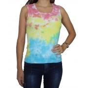 Regata Camiseta Feminina Tie Dye Gospel