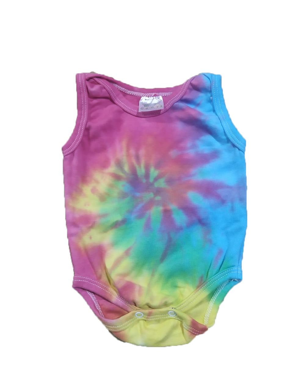 Body Regata Bebê Tie Dye  - HF | High Flight