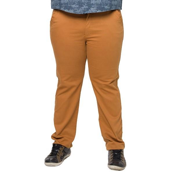 Calça Cós Brim Masculina Plus Size  - HF | High Flight