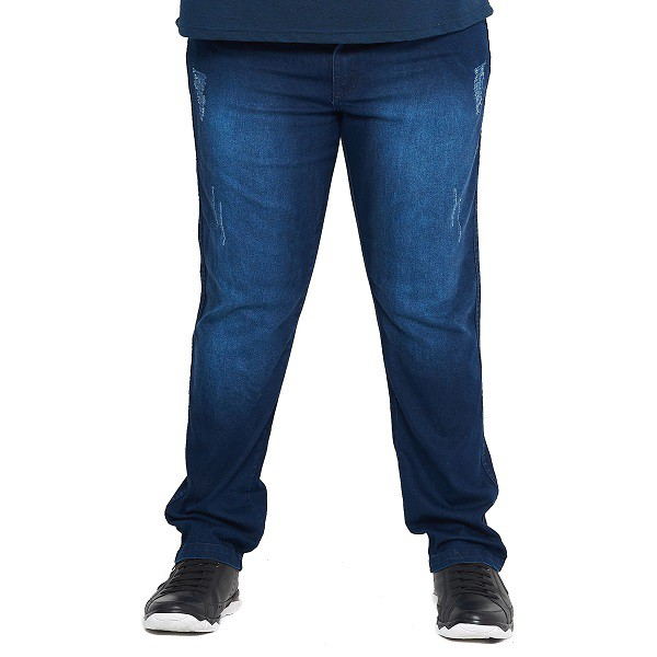 Calça Jeans Masculina Lavagem Stone Especial Plus Size  - HF | High Flight