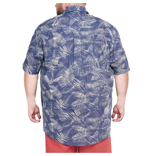Camisa Colarinho XPlus Size Estampada  - HF | High Flight