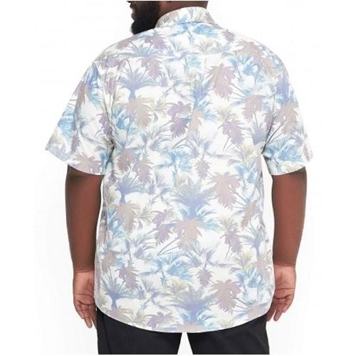 Camisa Colarinho XPlusSize Estampada  - HF | High Flight