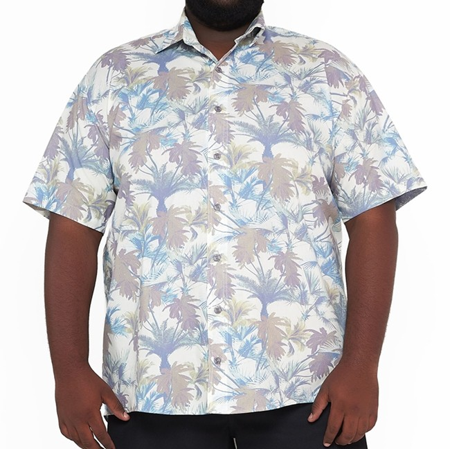 Camisa Colarinho Plus Size Estampada  - HF | High Flight