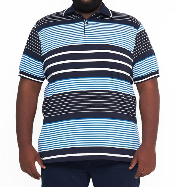 Camisa Polo Listra XXPlus Size  - HF | High Flight