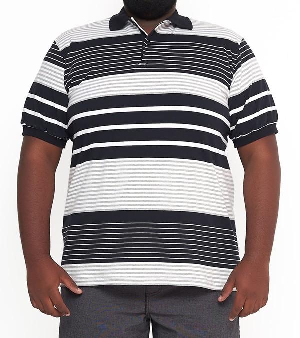 Camisa Polo Listra Plus Size  - HF | High Flight