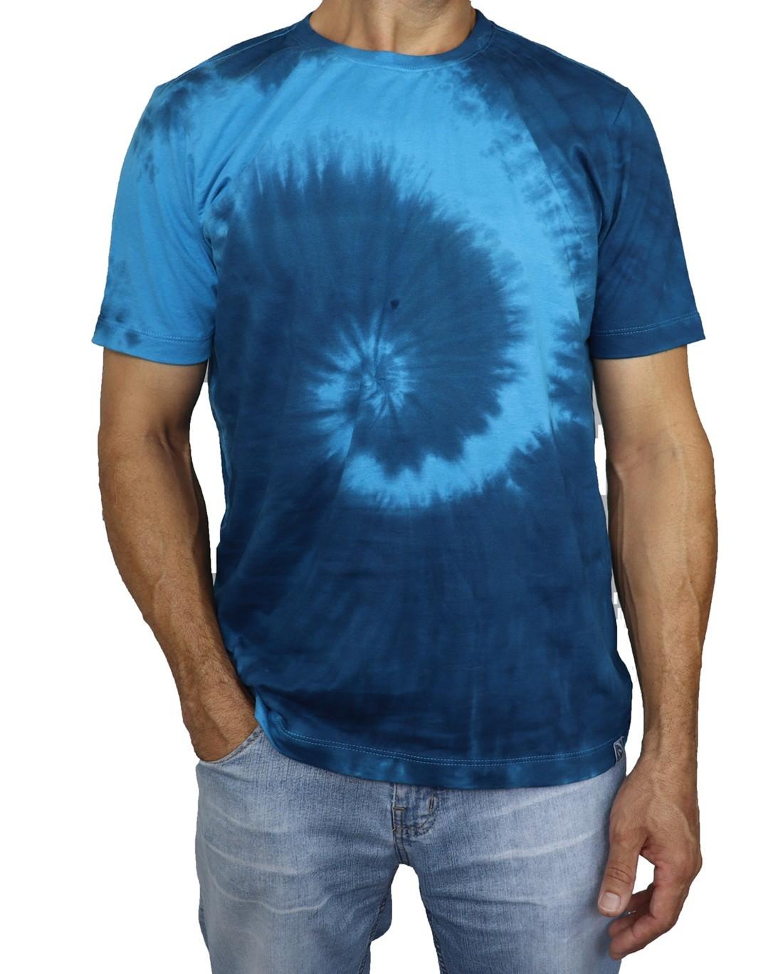 Camiseta Algodão Tie Dye Hippie Espiral  - HF | High Flight