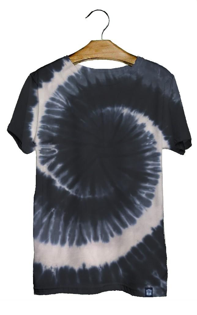 Camiseta Algodão Tie Dye Hippie Espiral Juvenil  - HF | High Flight