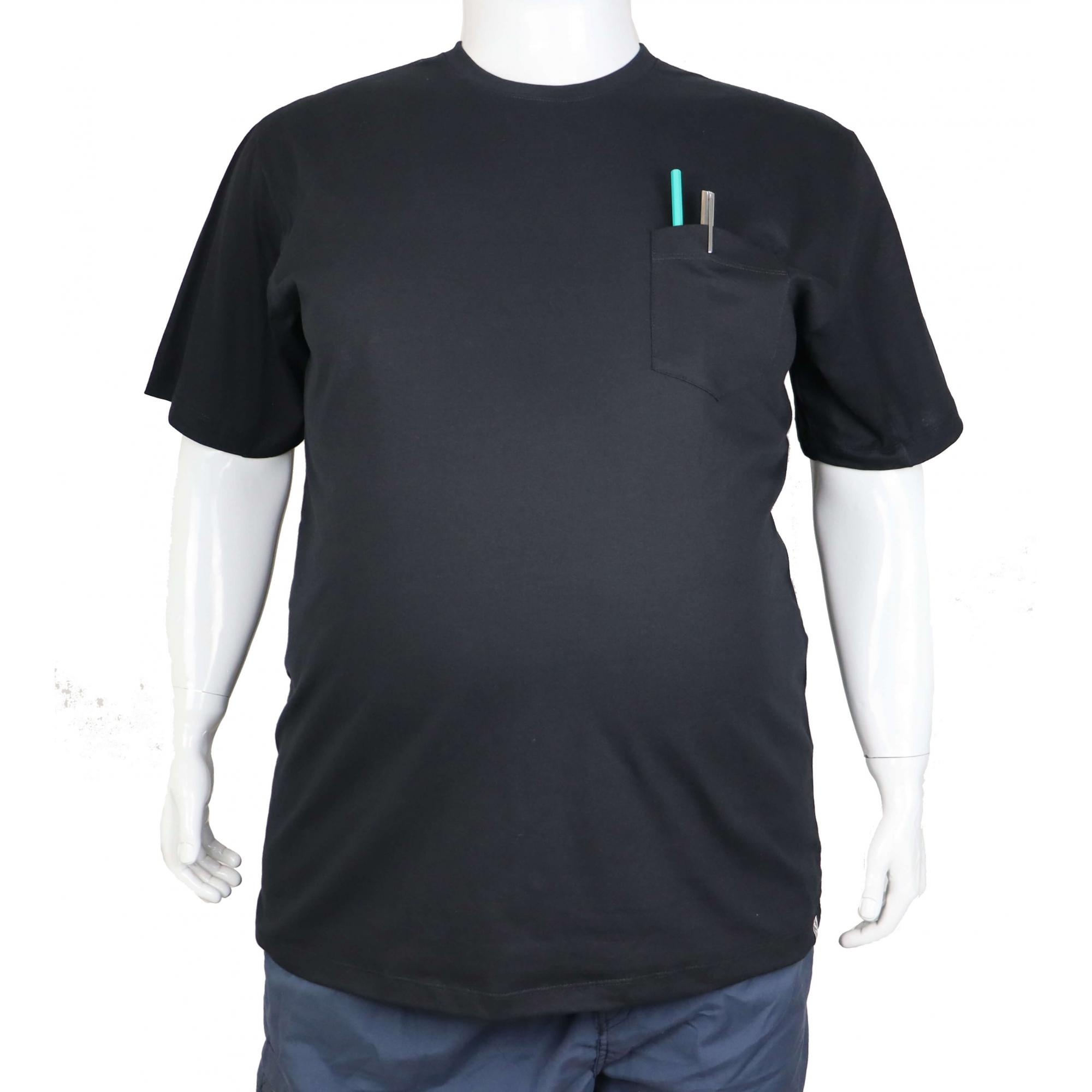 Camiseta Básica Com Bolso XPlusSize  - HF | High Flight