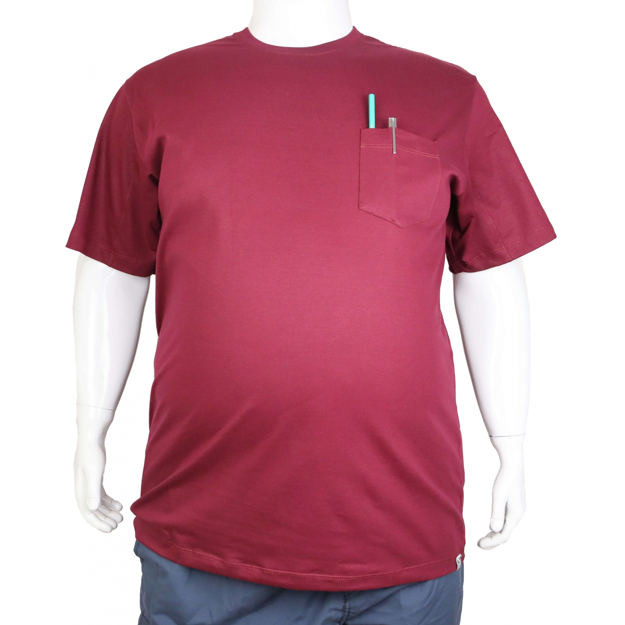 Camiseta Básica Com Bolso XXPlusSize  - HF | High Flight