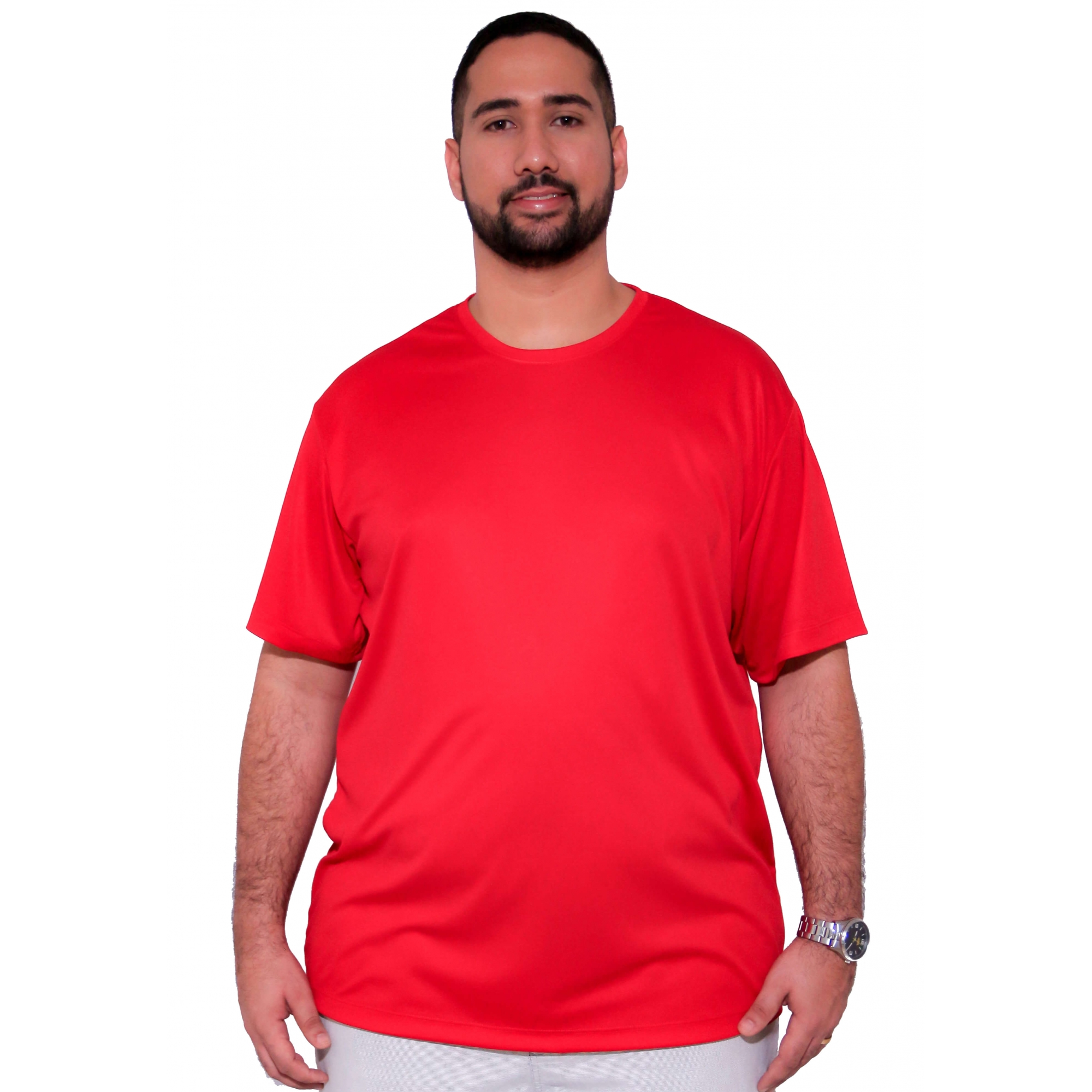 Camiseta Básica Dry-Fit Plus Size  - HF | High Flight